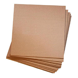 corrugated cardboard flat sheets