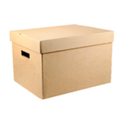 cardboard document boxes
